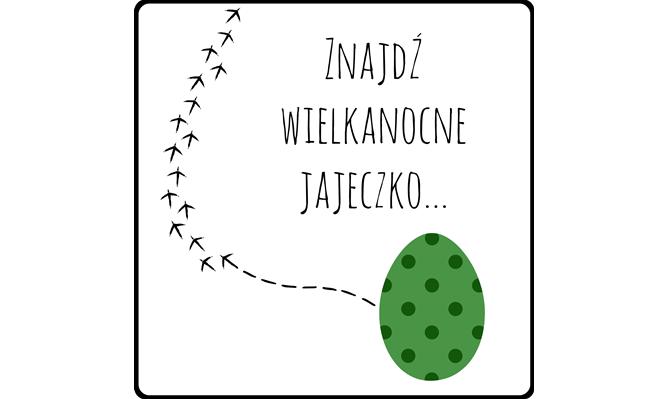 znajdź wielkanocne jajeczko