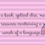 Twórz ze mną słownik!