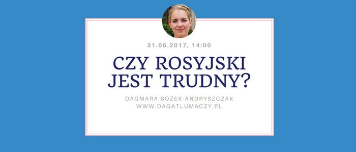 język rosyjski webinarium
