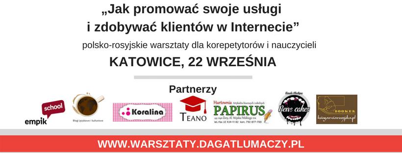 warsztaty 22 września Katowice